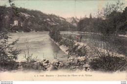 SUISSE GE GENÈVE Jonction De L'Arve Et Du Rhône - GE Geneva