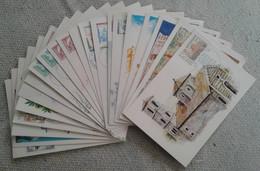 Lot De 21 Cartes ( Site Et Monument ) UNESCO - Collections, Lots & Series