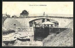 CPA Vermenton, L'Entree Du Canal - Vermenton