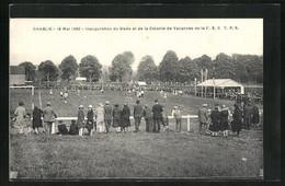 CPA Chablis, Inauguration Du Stade Et De La Colonie De Vacances - 18 Mai 1930 - Chablis