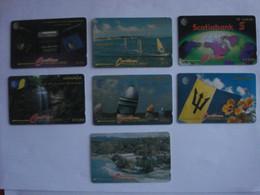 7 Cartes Des Caraïbes ( Utilisée ). - Austria