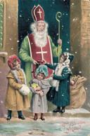 78723-  Nikolaus Weihnachtsmann Gruß Vom Nikolo, Krampus - Sinterklaas