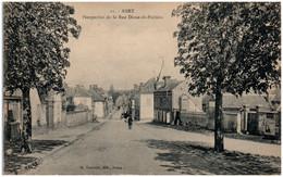 28 ANET - Perspective De La Rue Diane-de-Poitiers - Anet