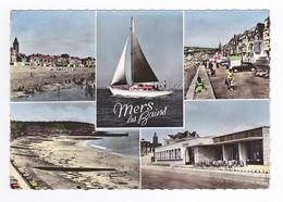80 Mers Les Bains N°533 14 Digue Promenade Plage Casino Voilier Citroën Traction Enfant Tenu En Laisse Poussette VOIRDOS - Mers Les Bains