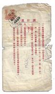 1955 - Lettre Ancienne De Chine - Cartas