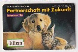 TK 30374 GERMANY - Chip K324 05.94 3000 DTMe Effem - K-Series : Serie Clientes