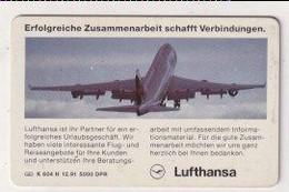 TK 30379 GERMANY - Chip K604H 12.91 5000 DPR Lufthansa - K-Series : Serie Clientes
