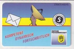 TK 30380 GERMANY - Chip K590 06.93 8.000 DPR Deutsche Postgewerkschaft - K-Series : Serie Clientes
