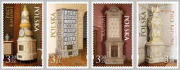 2020 Poland Historical Rocococo Tiled Stove  Full Of Set New! MNH** - Klöster