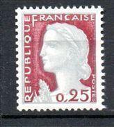 EMARIANNE DE DECARIS-   N°1263** - 1960 Marianne De Decaris