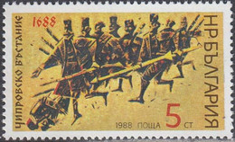 Chiprovtsi Uprising (Mi3702) - Bulgaria / Bulgarie 1988 -  Stamp MNH** - Neufs