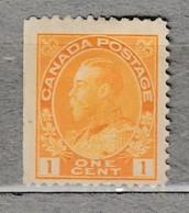 Canada 1922 MVLH (**/*) Mi 105F 26887 - Ungebraucht