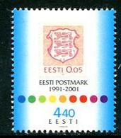 ESTONIA 2001 Stamp Anniversary MNH / **.  Michel 414 - Estonia
