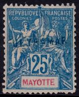 ✔️ Mayotte 1900/1907 - Surcharge ULTRAMAR Pour Les Archives De 'l UPU Dans Lisboa  - Yv. 17 (*) - Rare. 5-10 Connu ! - Nuevos