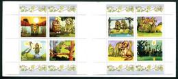 ESTONIA 2001 Pokuland Characters Booklet.  MNH / **.  Michel 402-09 (MH2) - Estonia