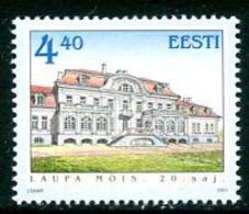 ESTONIA 2001 Laupa Manor House   MNH / **.  Michel 398 - Estonia