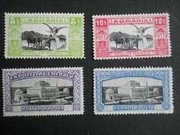 ROUMANIE ROMANIA - 1906 - Y&T N°192 - 193 - 194 - 195 191 - Neuf Sur Charnière - Nuovi