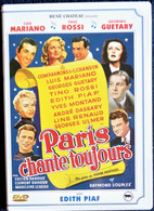 Paris Chante Toujours - Luis Mariano - Yves Montand - Edith Piaf - Line Renaud - Tino Rossi . - Musicals
