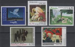 Artistique 1998, La Série Complète** N°3145, 3147, 3162, 3197, 3207 - Nuovi