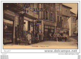 (   Dep  24 )   Ref    D.0496      THIVIERS  EPICERIE BIJOUTERIE TABAC  Rue ANIMEE - Winkels