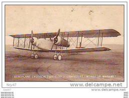 Cpa ( Avions )     Aréoplane CAUDRON  Type C- 33   - LANDAULET - 1914-1918: 1ste Wereldoorlog