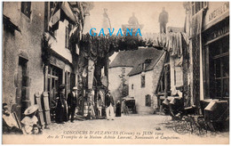 23 Concours D'AUZANCES 19 Juin  1904 - Arc De Triomphe De La Maison Achile Laurent, Nouveautés Et Confections - Auzances