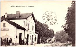 88 DOMPAIRE - La Gare - Dompaire