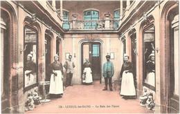 Dépt 70 - LUXEUIL-LES-BAINS - Le Bain Des Fleurs - (Éditeur : A. David, Luxeuil, N° 126) - Luxeuil Les Bains