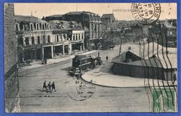 CPA 02 SAINT QUENTIN - Place De La Gare - Saint Quentin