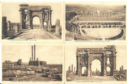 Timgad, Ruines Romaines, Lot De 12 Cartes (6317) - Other Cities
