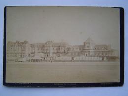 PHOTOGRAPHIE DELAHAYE Ancienne 1900 : CABOURG / AVENUE DE LA MARE ( CALVADOS ) - Places