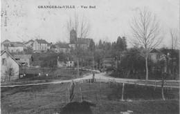GRANGES-la-VILLE (Haute-Saône) - VueSud - Edition Alix. Circulée En 1927. - Other Municipalities