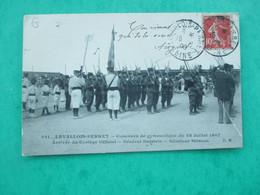 LEVALLOIS PERRET Concours De Gymnastique 28 JUILLET 1907 - Arrivée Cortege Officiel Général DAISTEIN - Sénateur STRASS - Levallois Perret