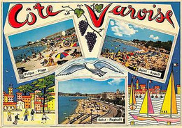 France Cote Varoise Frejus Plage Saint Raphael Saint Aygulf Strand Beach - Sonstige