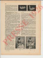 3 Vues Presse 1926 Nourrisson Nourrice Réglementation Métier Allaitement Mercenaire Bébé 229CH30 - Zonder Classificatie