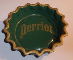 """Cendrier Perrier """"Forme Capsule"""" Vert En Céramique - Otros"""