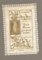 IMAGE PIEUSE/ CANIVET/ DENTELLE.. édit. Bonamy.. Souvenir De NOTRE DAME De LOURDES - Devotion Images