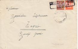 "Yugoslavia 1940 Maritime Boat TPO Sumartin , Island Brač, Postmark ""PREDANO NA PAROBRODU / PAQUEBOT"" - Covers & Documents"