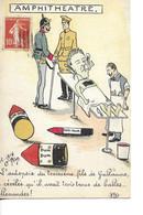 CPA  AMPHITHEATRE   Ecrite Et Timbrée  1916? - Satira