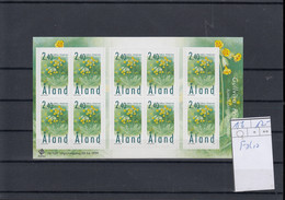 Aland Inseln Michel Cat.No. Sheet Mnh/** 156 - Aland