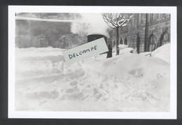 Le Tacot Pontarlier-Mouthe-Foncine Dans Pontarlier Sous 40cm De Neige En 1938 - Reproduction - Pontarlier