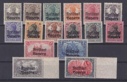 Bayern MiNr. 136-151 ** - Beieren