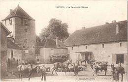 Dépt 70 - SEVEUX - La Ferme Du Château - (Éditeur : A. Bergeret, Lib.) - Vaches, Chevaux - Sonstige Gemeinden