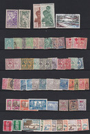 Ou038 NOUVELLE CALEDONIE  Lot Timbres N*, N, (O) - Unclassified