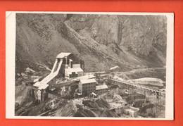 SIO-07 RARE Installations De Construction Du Barrage Emosson Barberine Finhaut, Région Trient Dents Du Midi.Carte-photo - VS Valais