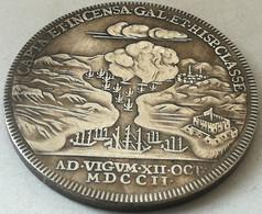 RÉPLICA Medalla Batalla De Rande, Vigo, Galicia, España 1702. Reina Ana Estuardo. Inglaterra. - Avant 1871