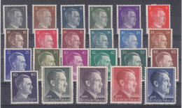 DR MiNr. 781-802A ** - Unused Stamps