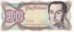 BILLETE DE VENEZUELA DE 100 BOLIVARES DE FEBRERO-5-1998  (BANKNOTE) - Venezuela