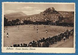 SUBIACO CAMPO SPORTIVO LITTORIO VG. 1947 ROMA STADIO STADIUM FOOTBALL CALCIO N°A812 - Andere Steden