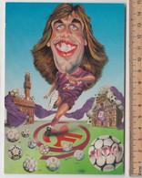 BATISTUTA  # Fiorentina, Calcio #  Cartolina , 1992 # - Voetbal
